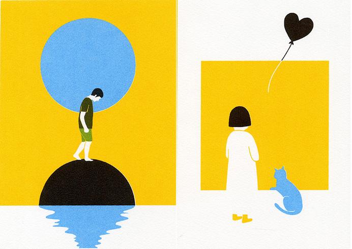Sad Day - BOYOUN KIM #illustration