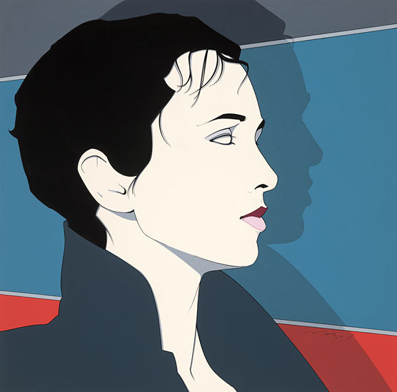 Just Looking Gallery - Patrick Nagel: Lisa #nagel #illustration #painting #art #patrick