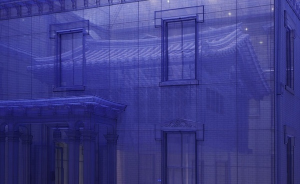 CJWHO ™ (Artist Do Ho Suh's ghostly fabric sculptures...) #sculpture #installation #design #architecture #fabic #art