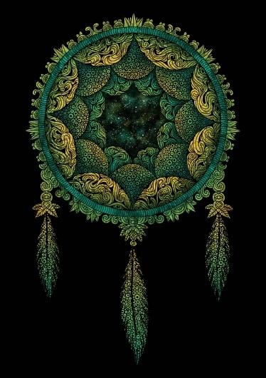 Art Sponge I Inspirational Visual Art #abstract #gouvea #catcher #dream #artwork #mixed #media #fil