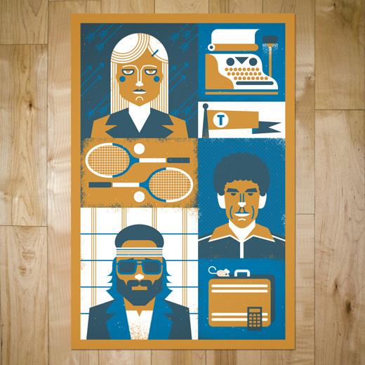 art prints : bandito design co. #illustration #poster