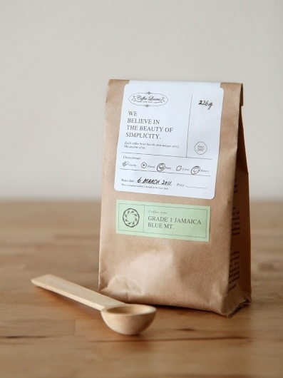gardens&co. #packaging #print #coffee