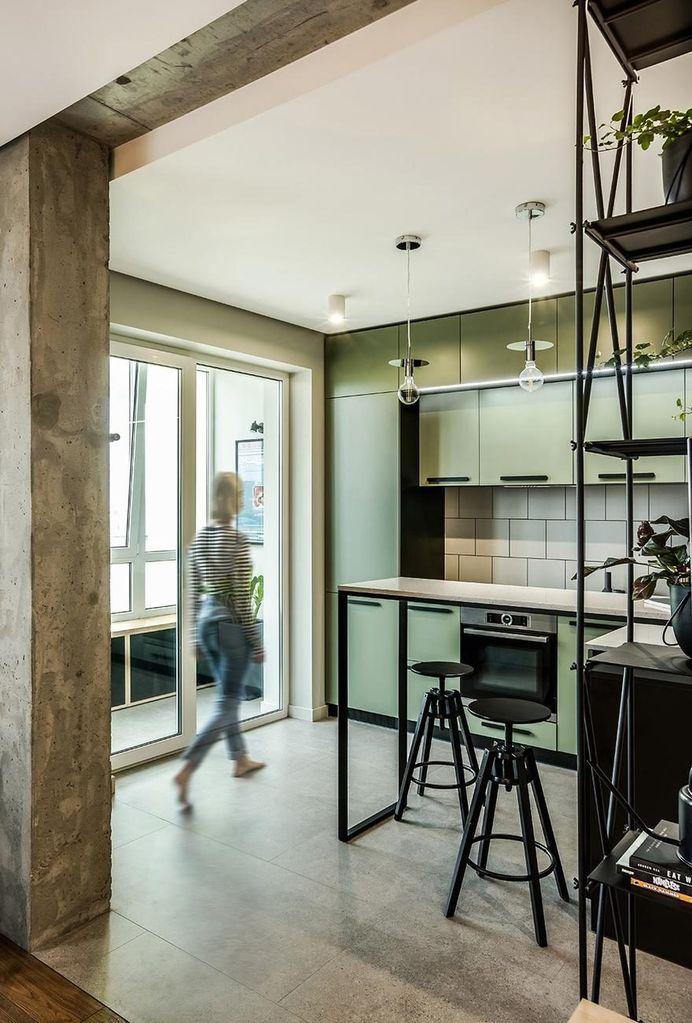 Charming 86 Sqm Apartment in Kiev Designed for a Cinema Fan 3