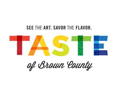 Taste of Brown County discarded logo #logo