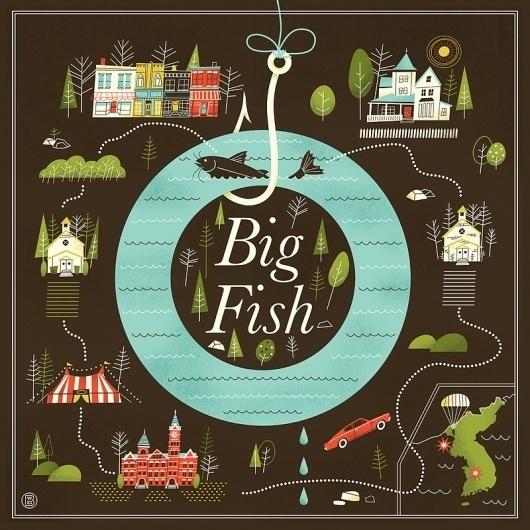 Big Fish Art Print By Brad Woodard