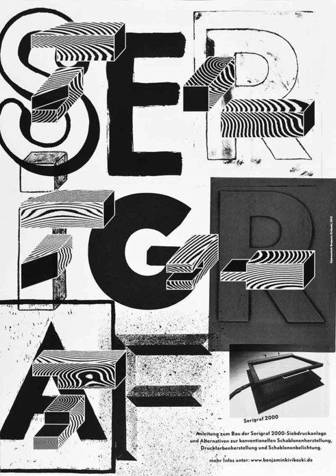 Serigraf2000 – Serigrafie für den Hausgebrauch / Diplomarbeit von Benjamin Kivikoski