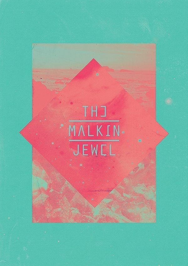 All sizes | The Malkin Jewel | Flickr - Photo Sharing! #silkscreen #design #graphic #illustration #poster