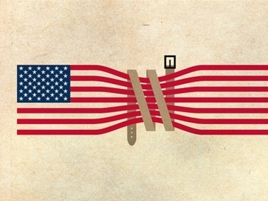 Why Americans Can't Save Money - Room for Debate - NYTimes.com #flag #illustration #editorial