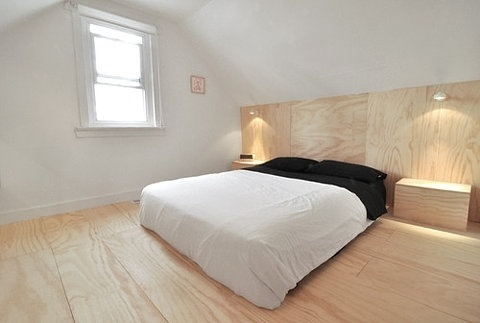FFFFOUND! | THE BRICK HOUSE #interior #creative #white #design #black #wood #furniture #bed
