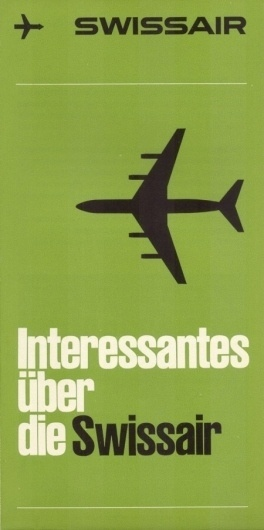 SwissAir Posters » ISO50 Blog – The Blog of Scott Hansen (Tycho / ISO50) #swissair #swiss #design #poster