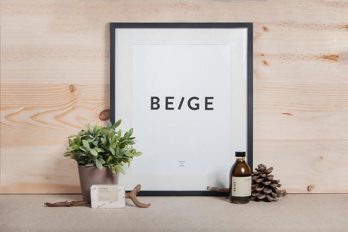 BEIGE #inspiration #branding #poster