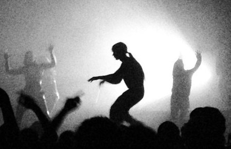 Instagrammed: Top 30 photos from The Knife's current tour #live #shaking #the #habitual #silhouette #knife #tour