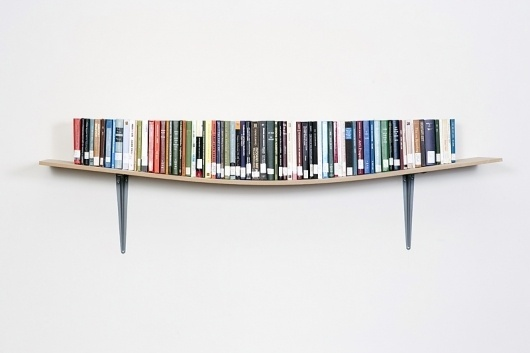 Display Book Shelf : Daniel Eatock #danieleatock #bookshelf