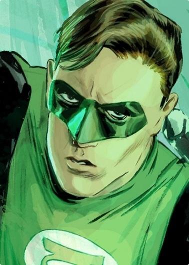 blog « matmacquarrie.ca #lantern #super #heroes #mitch #illustration #breitweiser #green
