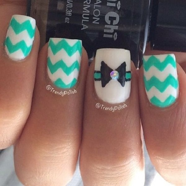 You can put the pattern on all your nails but it would be best if you can at least take the focus on an accent so it won't be too much to