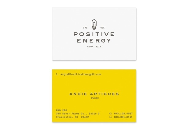 Business Cards #electric