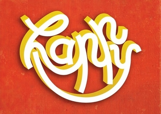 Andrei Robu #happy #typography