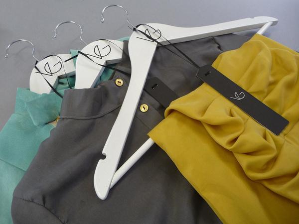 Vanessa Gate on the Behance Network #hangers #branding #label #hang #tags #identity #jonathan #finch #fashion #swing