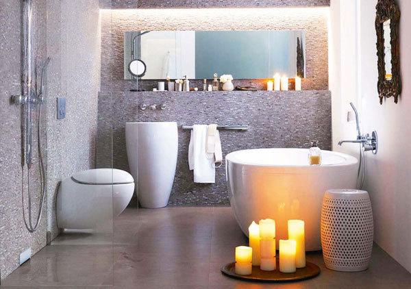 55 Cozy Small Bathroom Ideas #ideas #small #bathroom