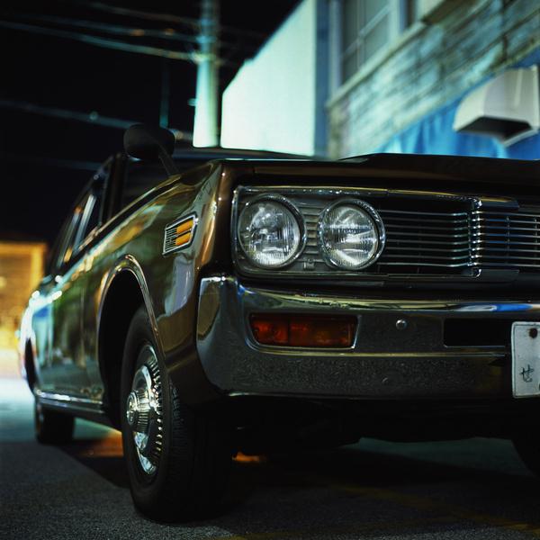 photo #nissan #retro #night #tokyo #vintage #chrome #car