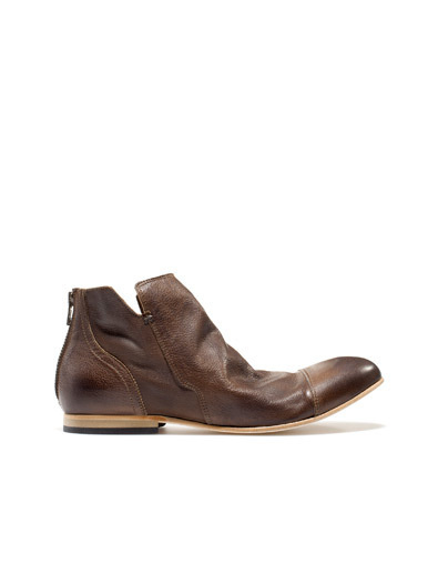 DESTRUCTURED ANKLE BOOT - Shoes - Man - ZARA United States #boots
