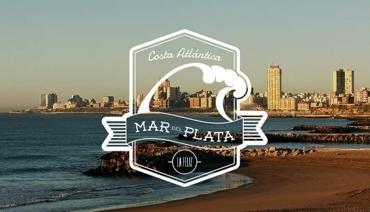 ~MDQ~ | Flickr: Intercambio de fotos #labels #argentina #wave #sea #badges #logo #beach
