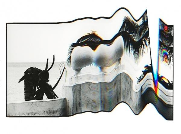 Jack Walsh #white #black #jack #poster #art #warp #walsh