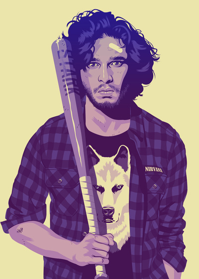 Jon Snow #of #game #thrones