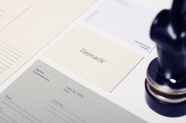 Hojmark Cycles brand identity #design #graphic #branding