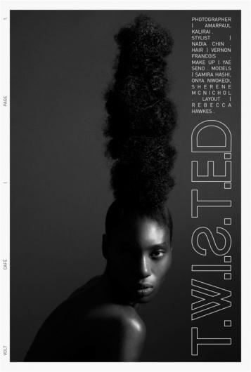 T.W.I.S.T.E.D   Volt Café   by Volt Magazine #beauty #white #design #graphic #volt #black #photography #art #and #fashion #layout #magazine #typography