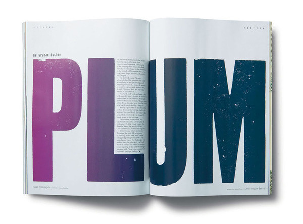 Zembla Magazine Matt Willey #layout #design #editorial #magazine
