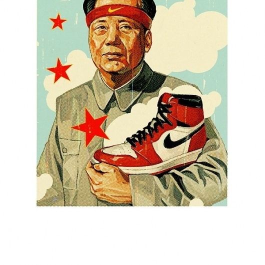 TavisCoburn Shopping #jordan #coburn #print #illustration #mao #tavis