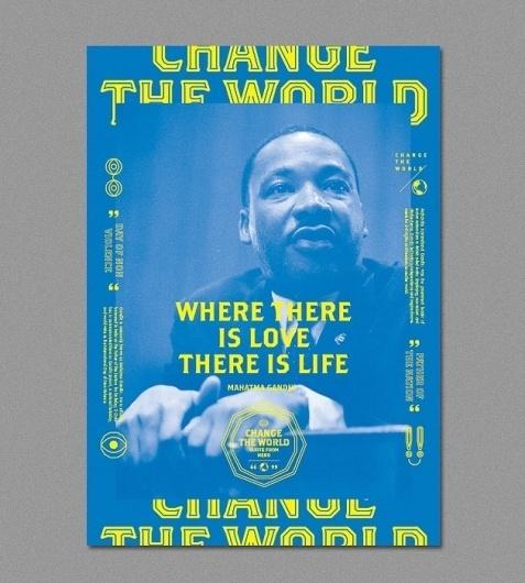 Change The World | ALONGLONGTIME #pink #blue #poster #alonglongtime