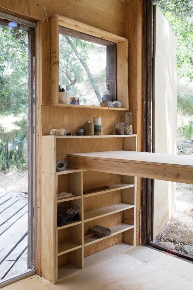 Cabin in Topanga7 #interior design #decoration #decor #deco #architecture #cabin #wood