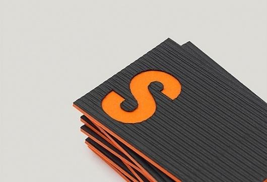 Onestep Creative - The Blog of Josh McDonald » Screenprint Productions #branding #avant #orange #black #identity #garde