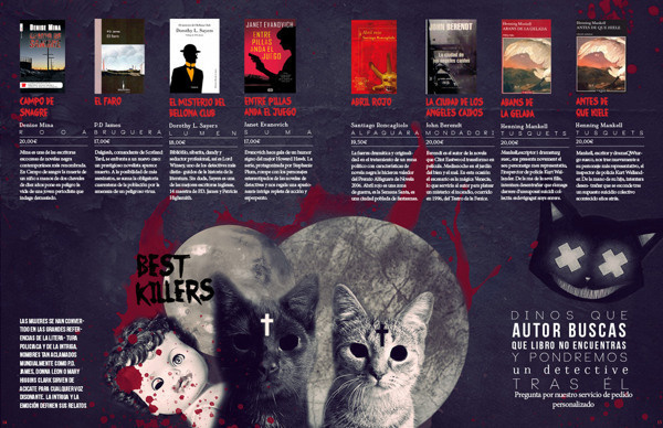 La Lista Negra // Redesign. #catalogue #pages #book #spooky