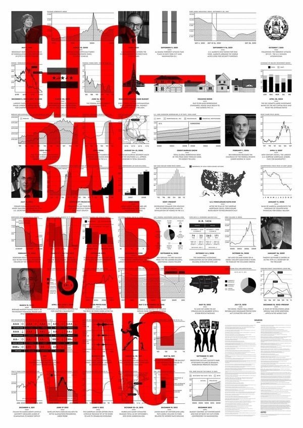 Information graphic #information #black #graphic #red