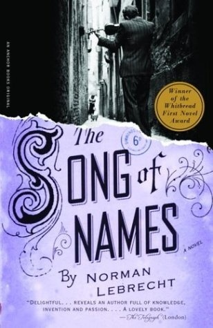 The Song of Names #cover #book