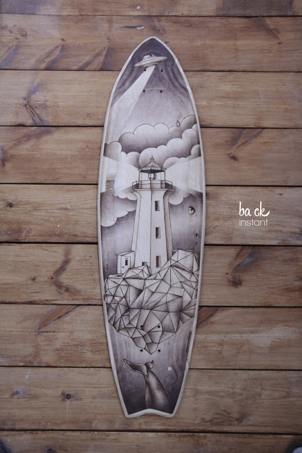 instant #clouds #geometry #longboard #lighthouse #ba #ck #dots #wood #chinese #ufo