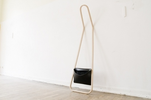 servus / r75 : FLORIAN SAUL #interior #clothing #clothes #design #wood #furniture #minimal #leather