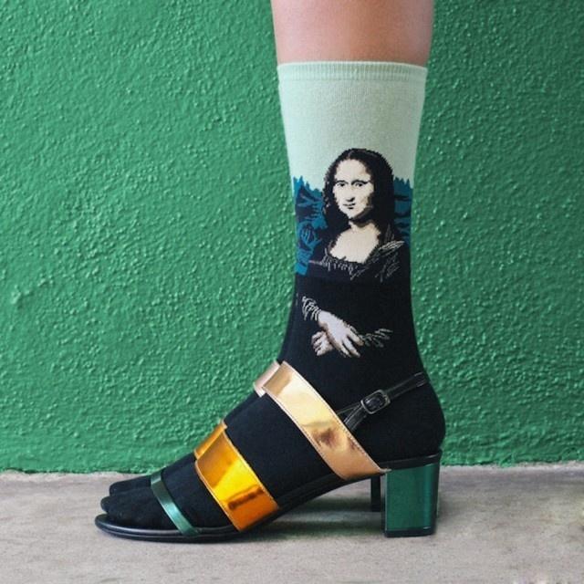 Art Masterpieces Recreated on Socks