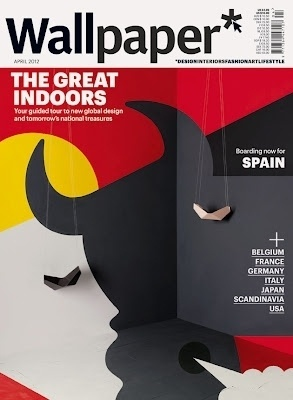 Super Punch: Wallpaper Magazine covers by Noma Bar #magazine