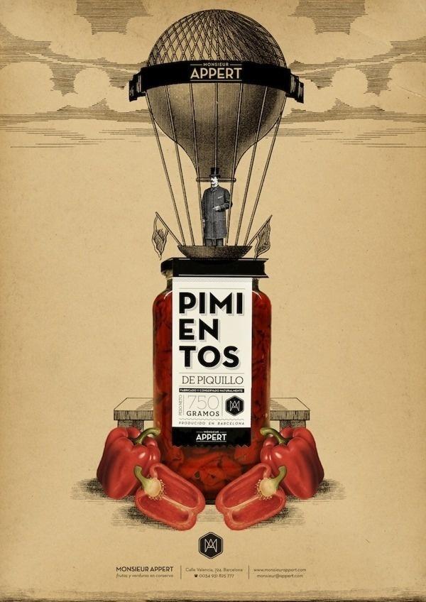 Monsieur Appert on Behance #print #poster