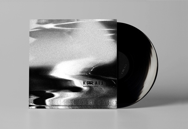 KRAIJ Berlin techno label 2013 on Behance #packaging #print #sleeve #record #vinyl #identity #cd