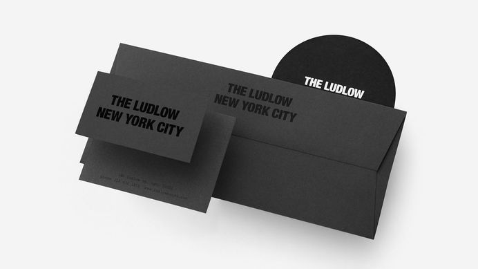 Ludlow Hotel on Behance