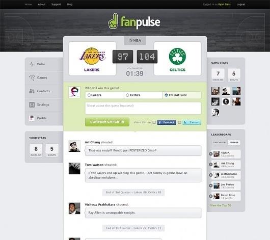 Ryan Sims — Etc. #pulse #design #clean #minimal #fan #web