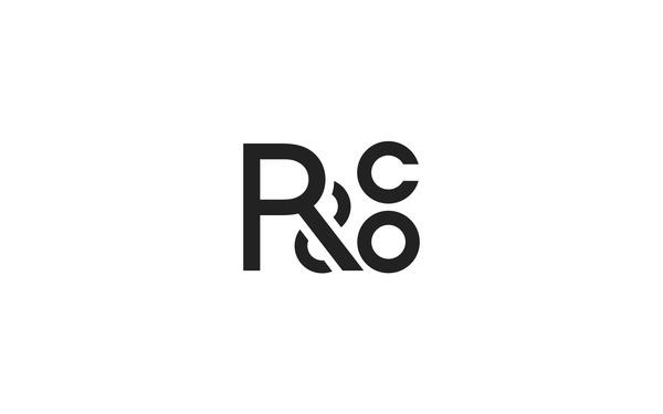 """R&Co."" by Ryan Paonessa #lettering #logo #monogram #symbol #minimal #type #typography"