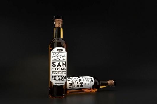 Mezcal San Cosme - SAVVY #render #san #mezcal #studio #monterrey #cosme #savvy