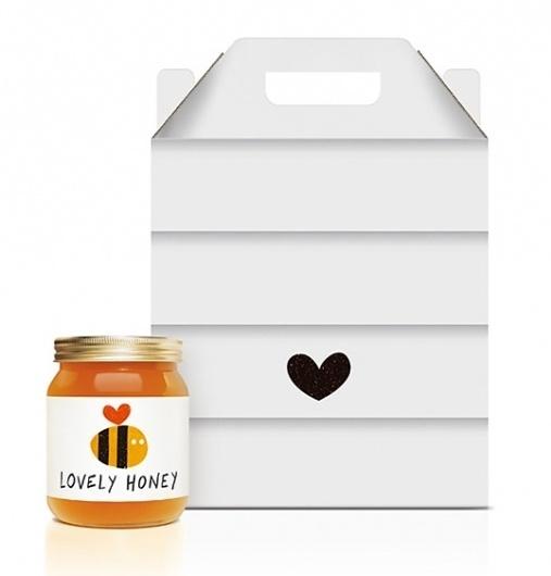 Lovely Package . Curating the very best packaging design. #packaging #jar #honey
