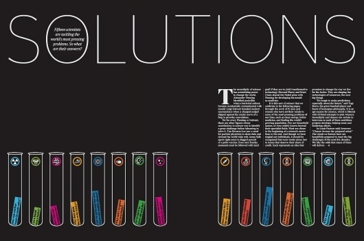 things to look at: Eureka Magazine #info #tubes #graphic #test